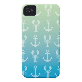 Anchors and Lobsters Case-Mate iPhone 4 Cases