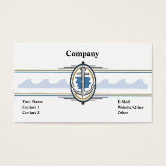 Anchors Away Business Card