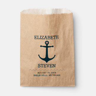 Anchors Away Favour Bag