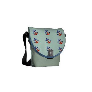 Anchors Away Messenger Bags