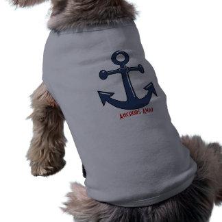Anchors Away Pup Shirt