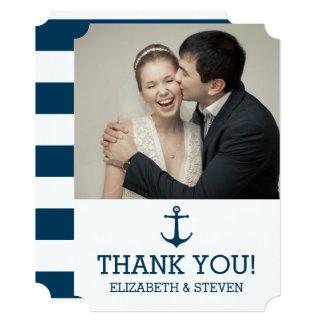Anchors Away - Thank You Card