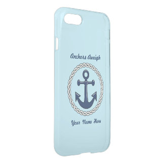 Anchors Aweigh Personalized iPhone 7 Case