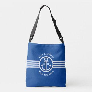 Anchors Aweigh Ship's Mate Nautical Crossbody Bag