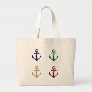 Anchors Large Tote Bag