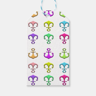 anchors of colors gift tags