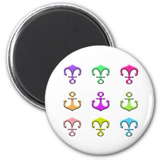 anchors of colors magnet