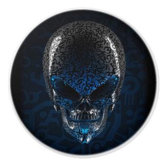 Ancient Alien Skull Ceramic Knob