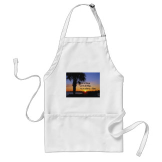 Ancient American Indian proverb Standard Apron