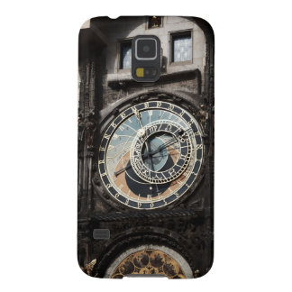 Ancient Astrology Timepiece Clock in Prague Czech Galaxy S5 Covers