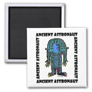Ancient Astronaut Square Magnet