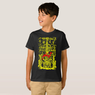 Ancient astronaut yellow & red version T-Shirt