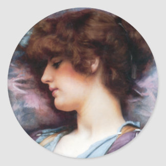 Ancient beauty 7 Sticker,  3 inch (sheet of 6) Classic Round Sticker