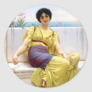 Ancient beauty 8 Sticker, 3 inch (sheet of 6) Classic Round Sticker