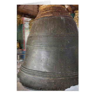 Ancient Bell At Temple Card