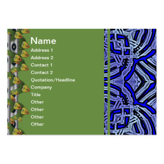 Ancient Blue I Relic Pack Of Chubby Business Cards
