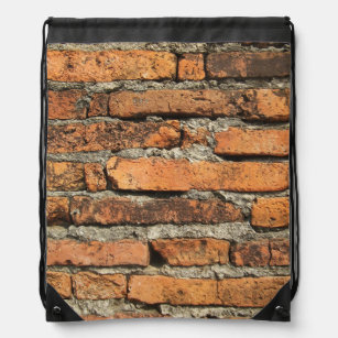 532f92779880 Ancient Brick Wall Drawstring Bag