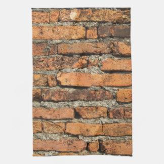 Ancient Brick Wall Tea Towel