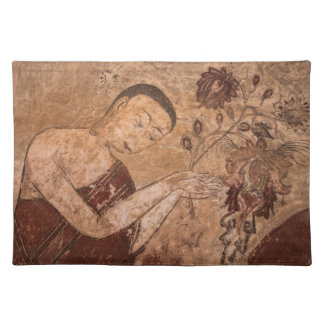Ancient Buddhist Painting Placemat