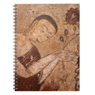 Ancient Buddhist Painting Spiral Notebook