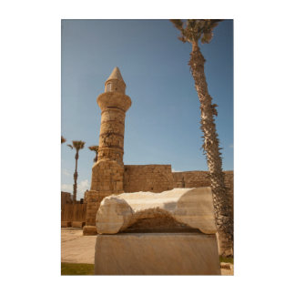 Ancient Caesarea Ruins Acrylic Print