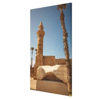 Ancient Caesarea Ruins Canvas Print