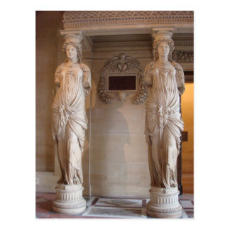 Ancient Caryatids Postcard