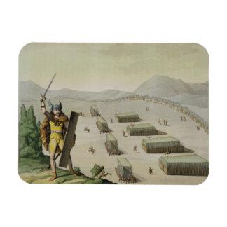 Ancient Celts or Gauls in Battle, c.1800-18 (colou Magnet