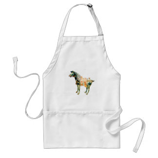 Ancient Chinese Horse gifts & greetings Standard Apron