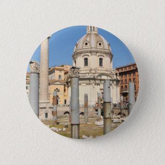 Ancient city of Rome, Italy 6 Cm Round Badge