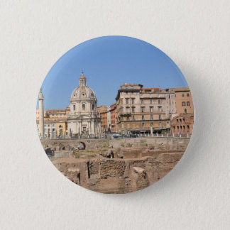 Ancient city of Rome, Italy 6 Cm Round Badge