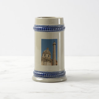 Ancient city of Rome, Italy Beer Stein