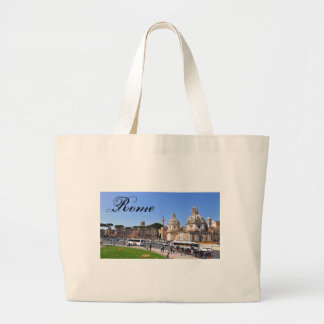 Ancient city of Rome, Italy Large Tote Bag