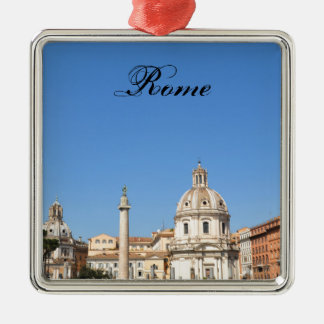 Ancient city of Rome, Italy Metal Ornament