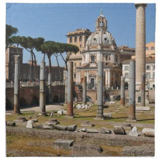 Ancient city of Rome, Italy Napkin