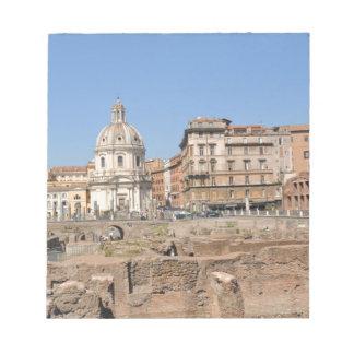 Ancient city of Rome, Italy Notepad