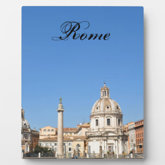 Ancient city of Rome, Italy Plaque