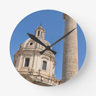 Ancient city of Rome, Italy Round Clock