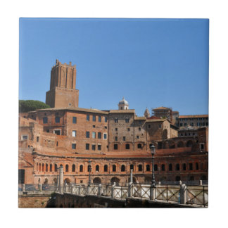 Ancient city of Rome, Italy Tile