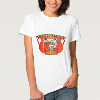 Ancient civilisation, designs from pottery tee shirt