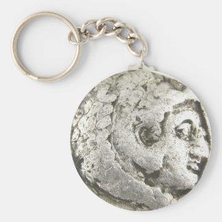 Ancient Coin Key Ring