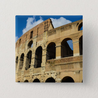 Ancient Colosseum in Rome, Italy 15 Cm Square Badge