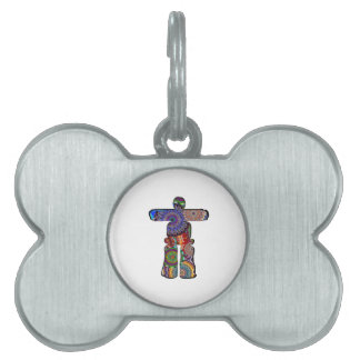 Ancient Compass Pet ID Tag