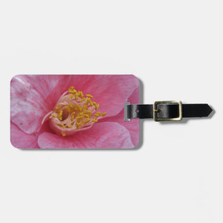 Ancient cultivar of Camellia japonica flower Luggage Tag