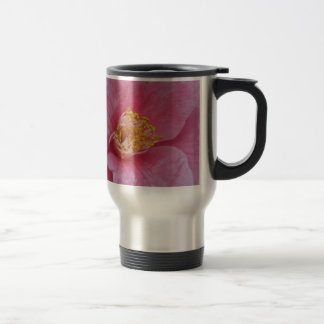 Ancient cultivar of Camellia japonica flower Travel Mug