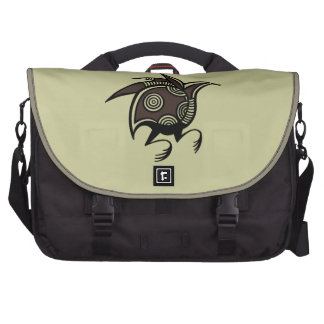 Ancient Cypriot bird motif courier bag Laptop Bags