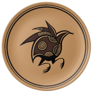 Ancient Cypriot bird motif Plate