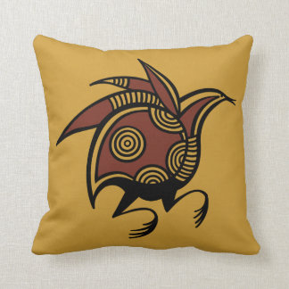 Ancient Cypriot bird motif throw pillow Throw Cushions