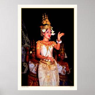 Ancient Dance - Cambodia Print