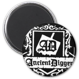 Ancient Digger New Logo2 6 Cm Round Magnet